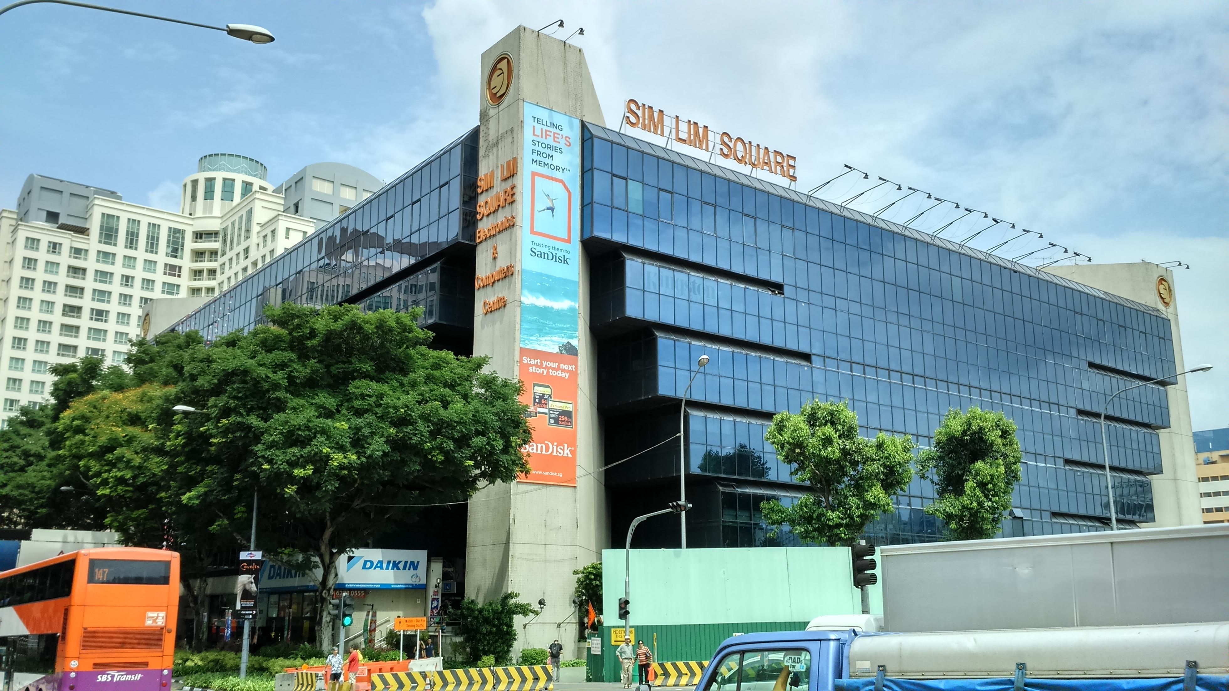 Image result for Sim Lim Square singapore