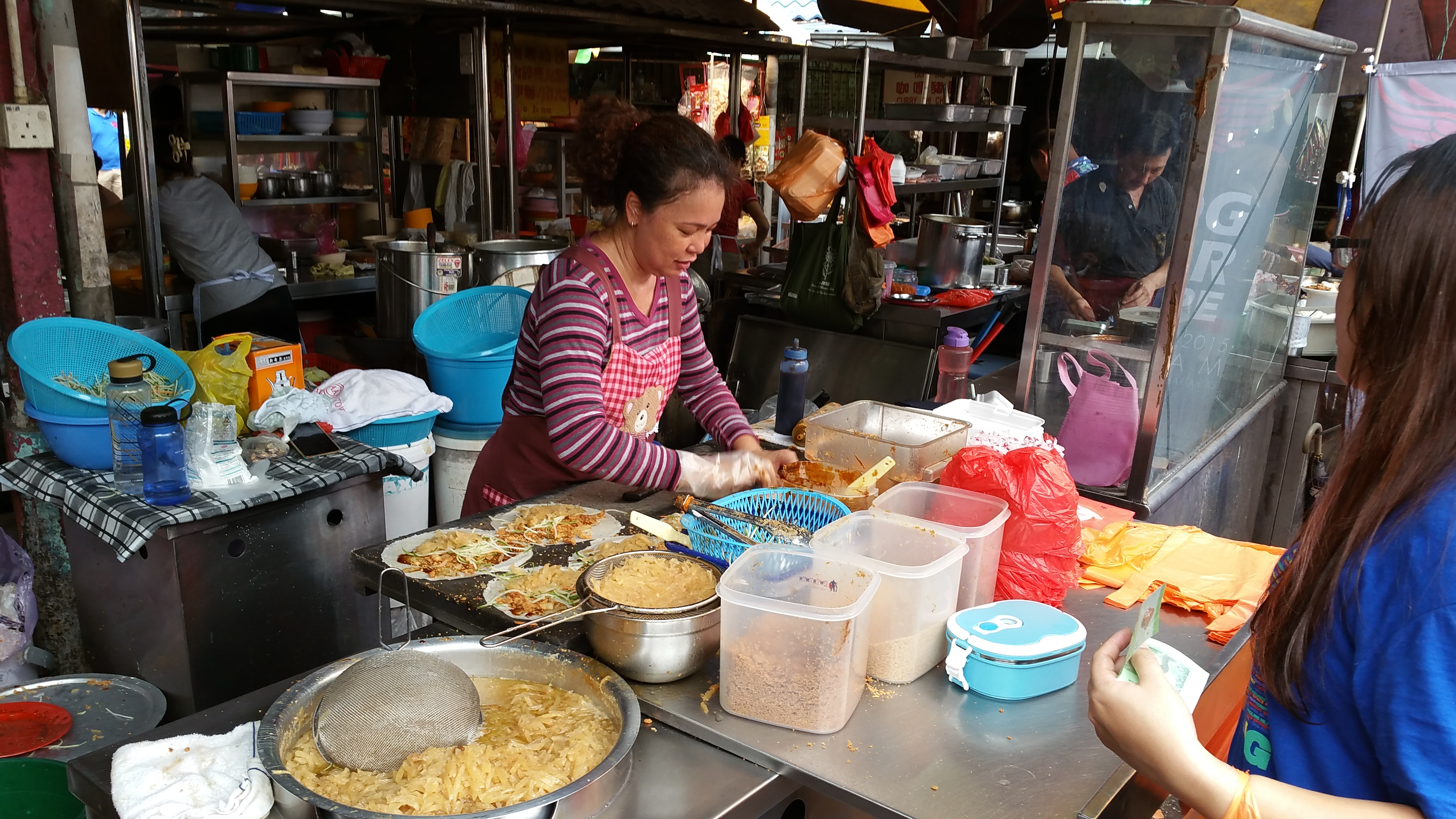 KL Street Food  Jalan Alor Imbi Market and Lot 10  The