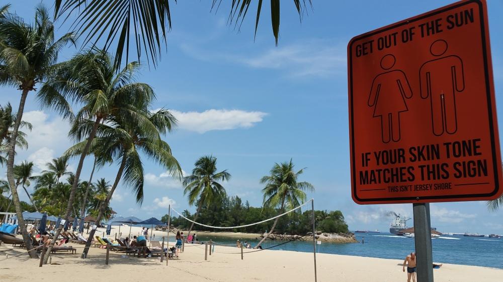 Sentosa Siloso Beach 5